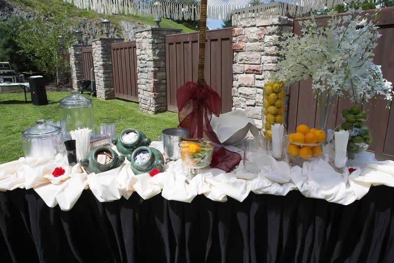 Stroudsmoor Country Inn - Stroudsburg - Indian Wedding - Poconos - Table Setting