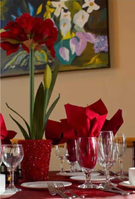 Stroudsmoor Country Inn - Stroudsburg - Poconos - Intimate Wedding - Table Setting