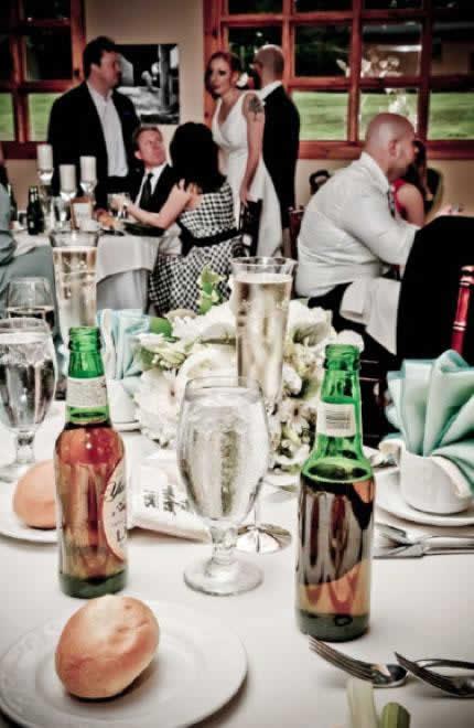 Stroudsmoor Country Inn - Stroudsburg - Poconos - Intimate Wedding - Wedding Guests At Table