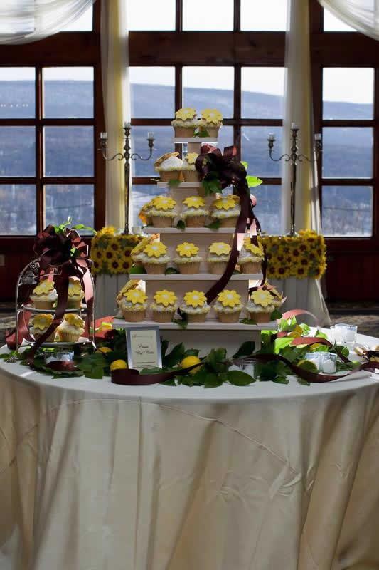 Stroudsmoor Country Inn - Stroudsburg - Poconos - Pocono Mountain Wedding - Wedding Cupcakes
