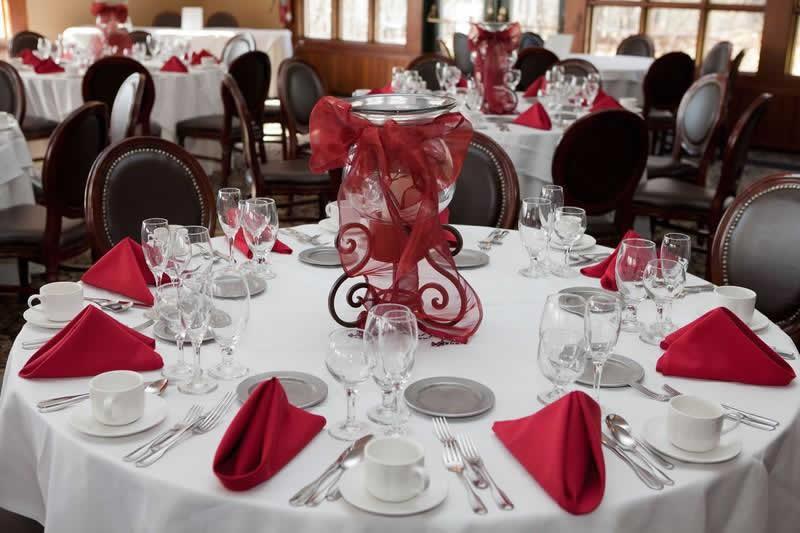 Stroudsmoor Country Inn - Stroudsburg - Poconos - Pocono Mountain Wedding - Table Settings