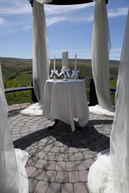 Stroudsmoor Country Inn - Stroudsburg - Poconos - Pocono Mountain Wedding - Gazebo