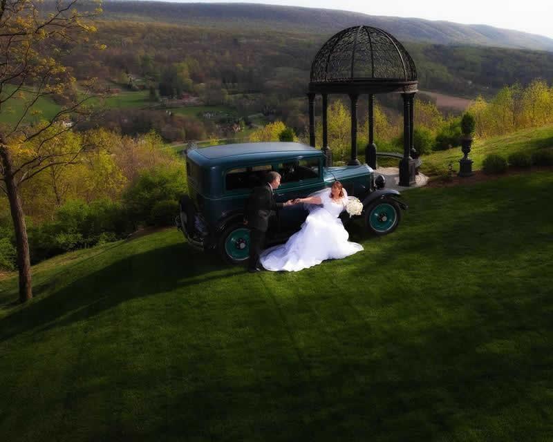 Stroudsmoor Country Inn - Stroudsburg - Poconos - Pocono Mountain Wedding - Bride And Groom