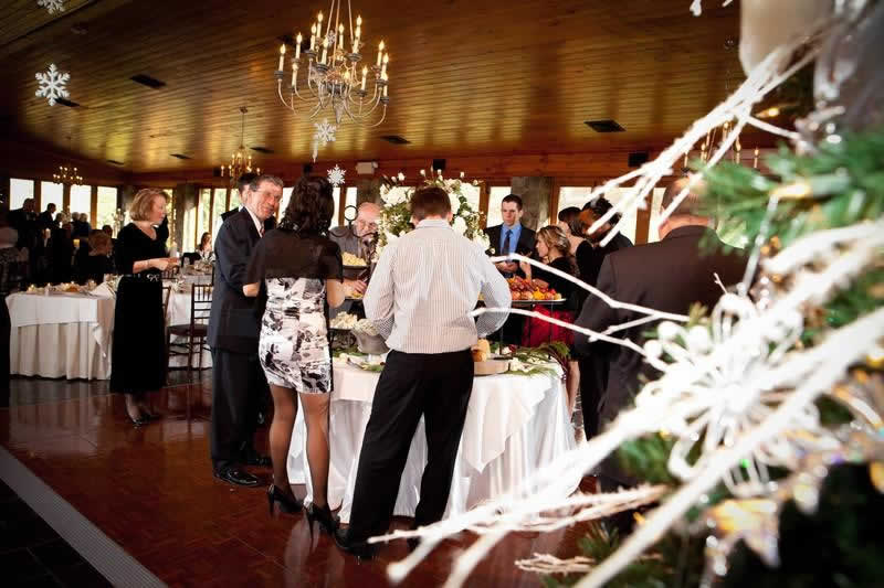 Stroudsmoor Country Inn - Stroudsburg - Poconos - Pocono Winter Wedding - Wedding Reception