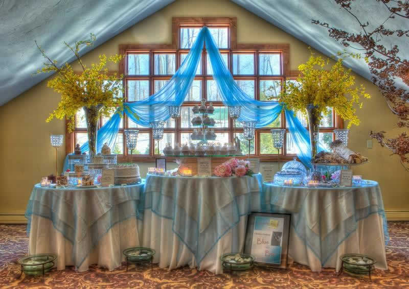 Stroudsmoor Country Inn - Stroudsburg - Poconos - Woodlands Outdoor Wedding - Cake Samplings