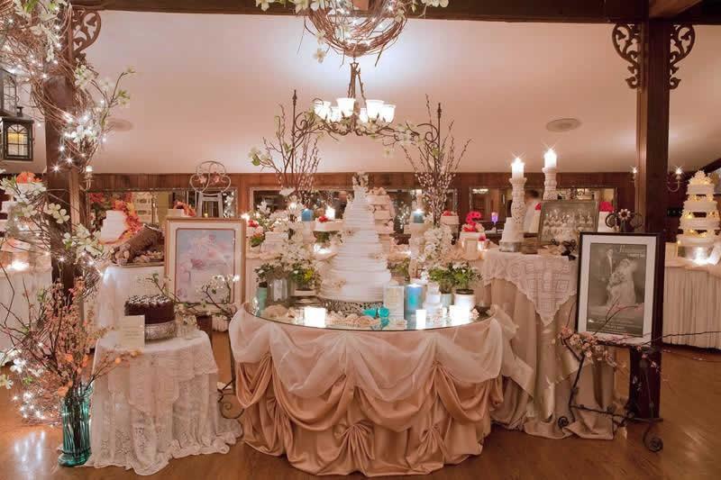 Stroudsmoor Country Inn - Stroudsburg - Poconos - Woodlands Outdoor Wedding - Exquisite Table Settings