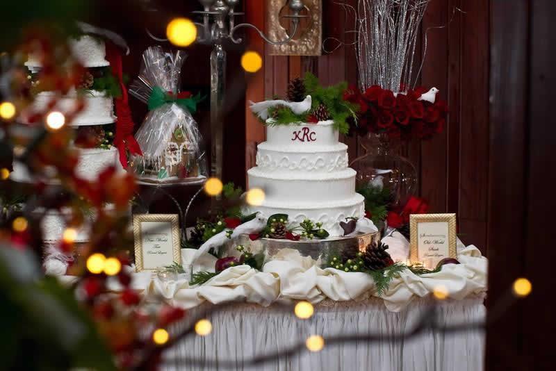 Stroudsmoor Country Inn - Stroudsburg - Poconos - Woodlands Outdoor Wedding - Wedding Cake Sampler