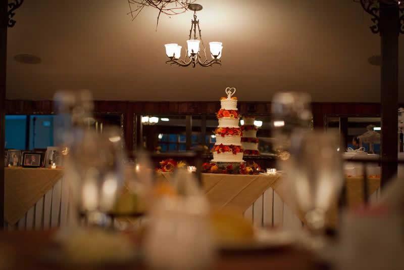 Stroudsmoor Country Inn - Stroudsburg - Poconos - Woodlands Outdoor Wedding - Wedding Cake - Woodlands Outdoor Wedding