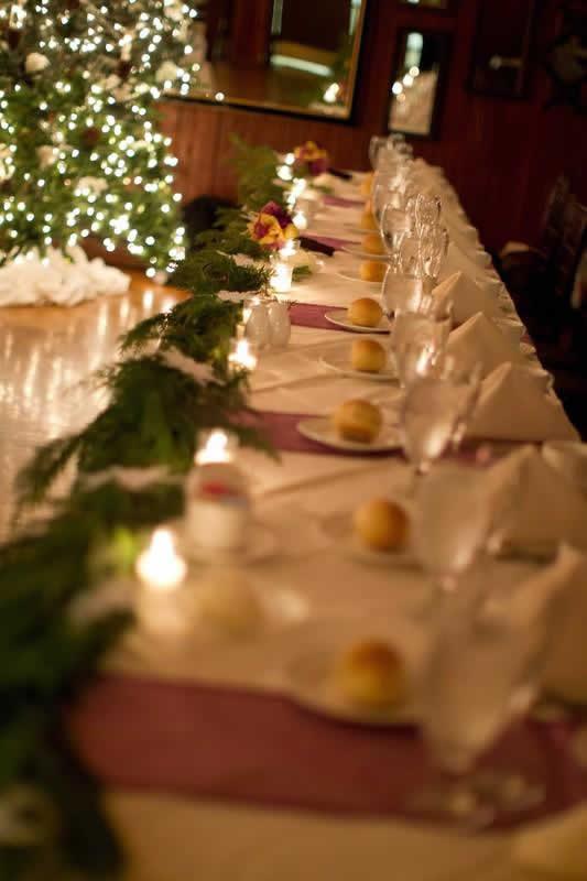 Stroudsmoor Country Inn - Stroudsburg - Poconos - Woodlands Outdoor Wedding - Romantic Table Setting