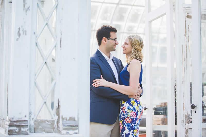 Real Pocono Weddings - Stroudsmoor Country Inn - Poconos Pennsylvania - Happy couple gazing into each other's eyes