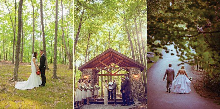 Stroudsmoor Country Inn - Couple in the Woods - Wedding Warrior