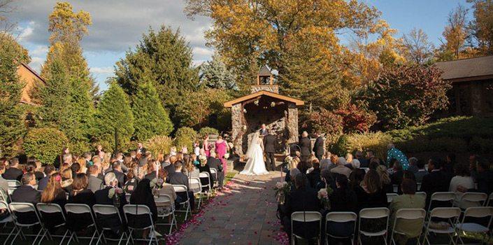 Stroudsmoor Country Inn - Lawnhaven Ceremony - Wedding Warrior