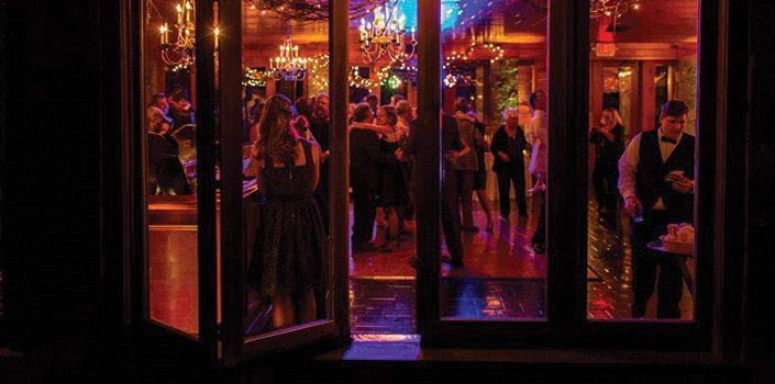 Stroudsmoor Country Inn - Night reception, people dancing - Wedding Warrior
