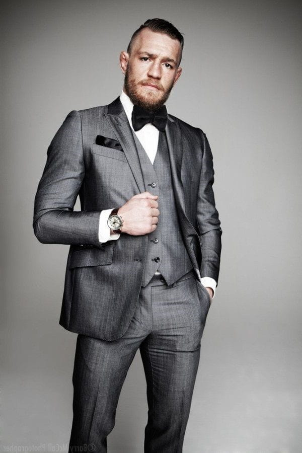 Man wearing a fitted suit