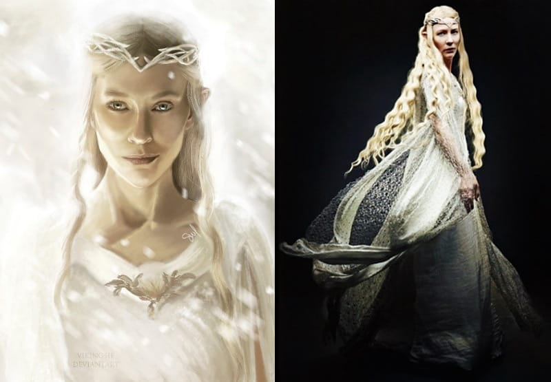 Lord of the Rings Elven Queen Galadriel