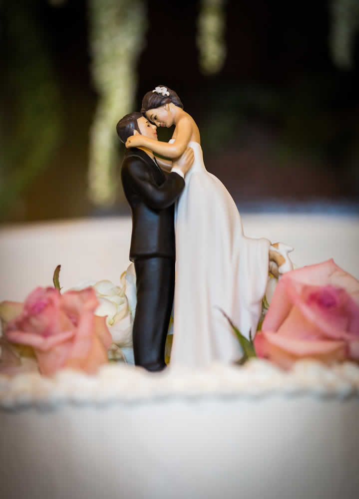 Wedding cake topper - wedding couple
