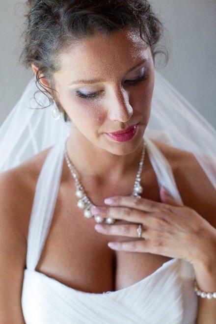 Perfect veil for the wedding ensemble