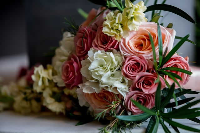 Wedding flowers - floral bouquet