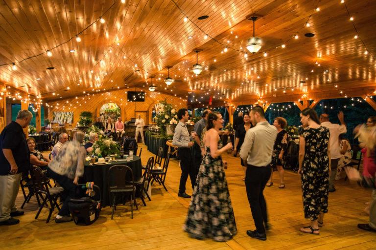 Party Wedding reception dancing