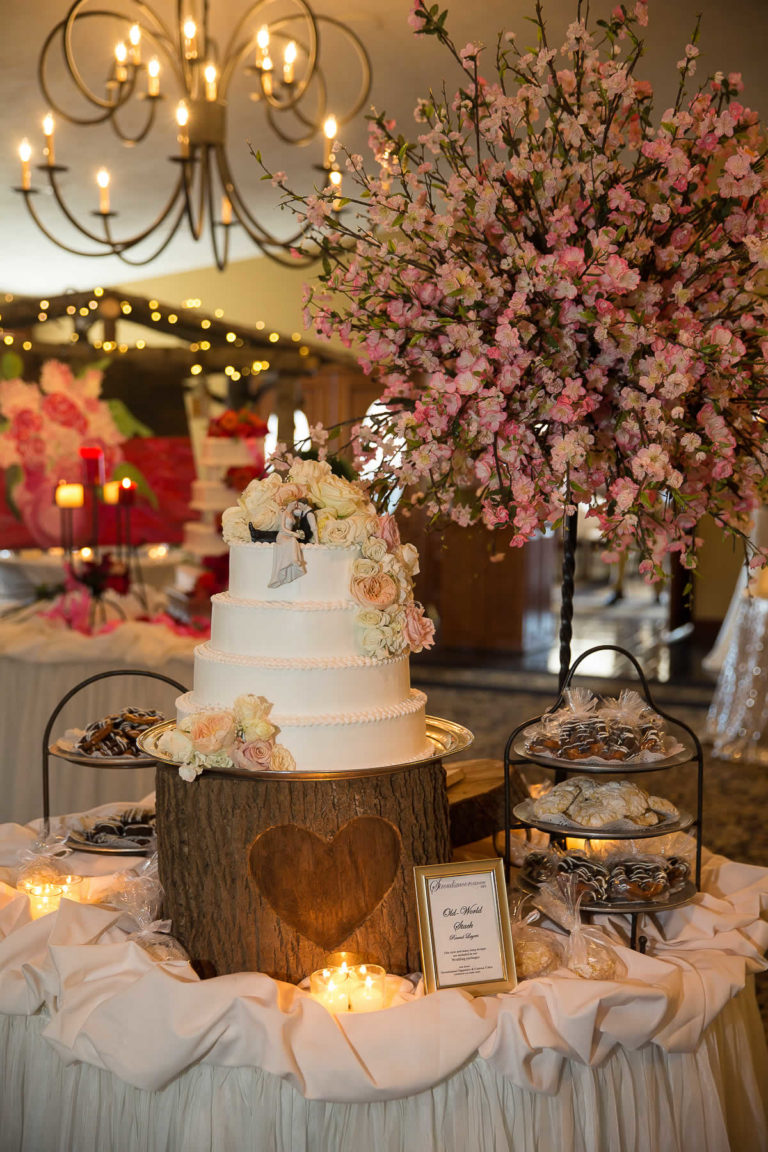Wedding cake/dessert station