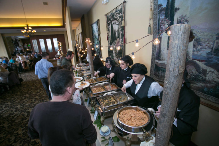Catering food station