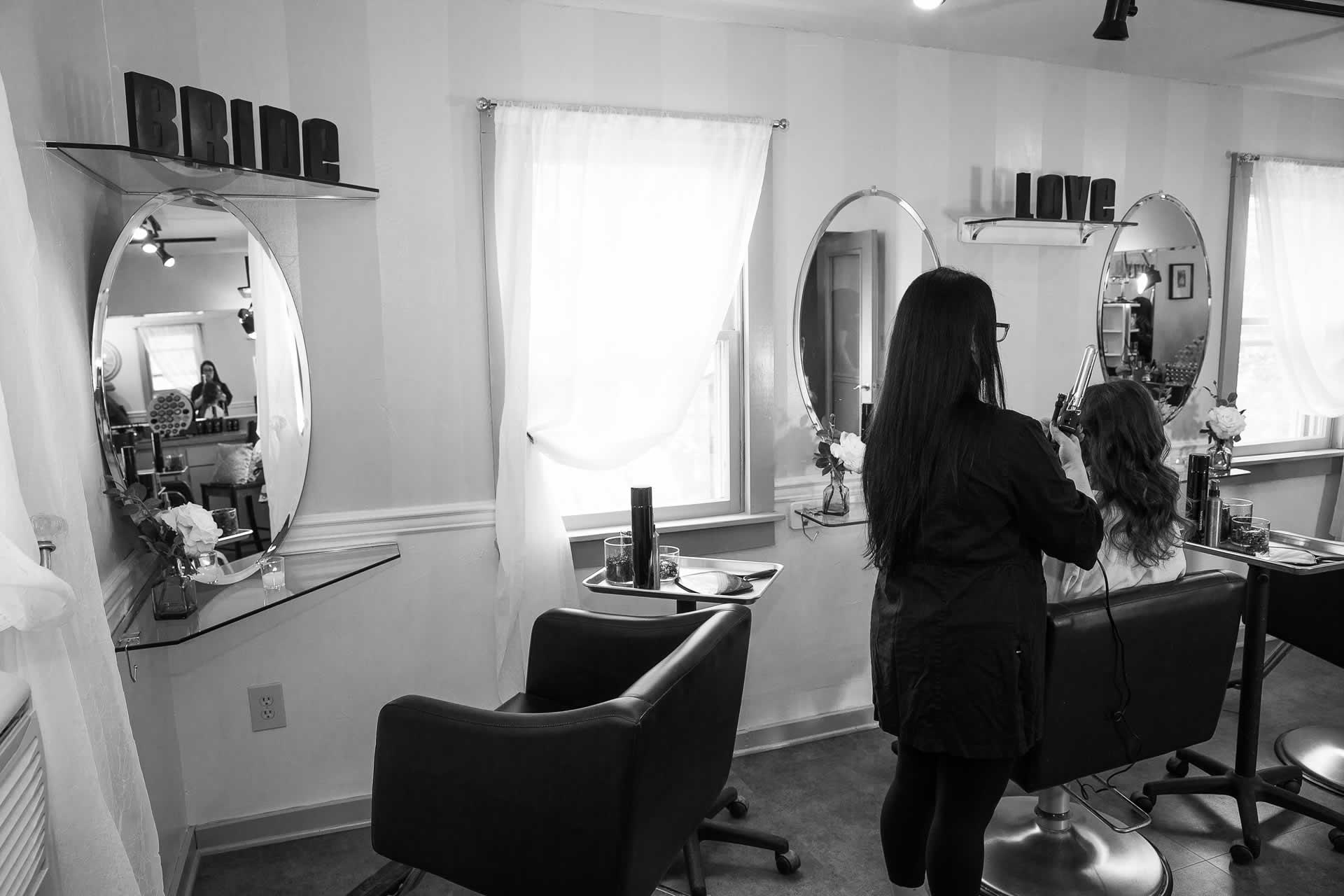 Hair and makeup wedding studio stroudsmoor spa
