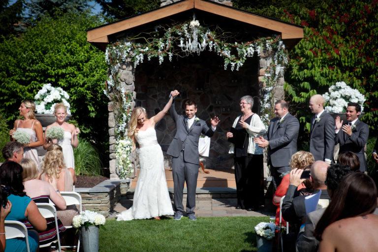 Wedding couple lawnhaven