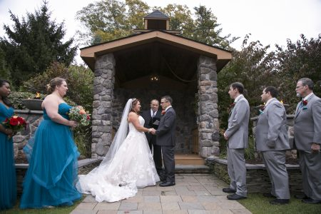 Saying their i do's