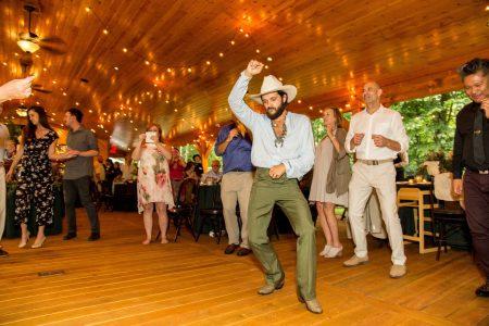 Party, wedding reception dancing