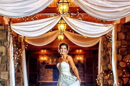 Beautiful bride Lawnhaven