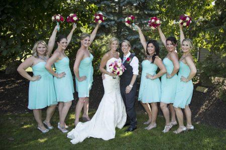 Wedding party LGBTQ