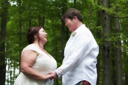 Wedding couple LGBTQ