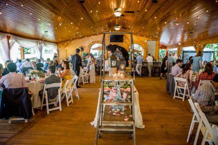 Wedding reception pavilion