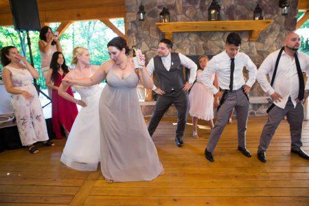 Wedding reception, party, dancing
